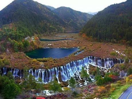 jiuzhaigou spot