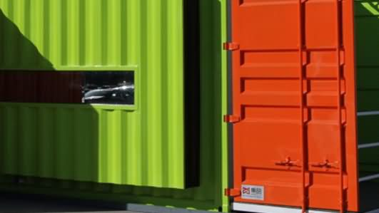 Mobile House, Container Hotels, Container Villas for camps