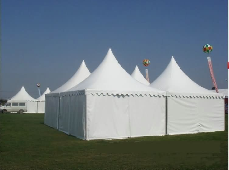 European spire tent, outdoor exhibition tent