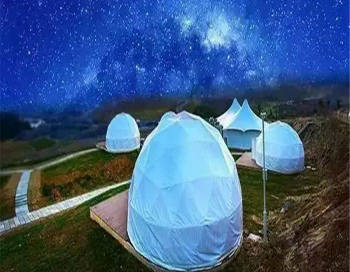Outdoor Geodesic Dome Tents
