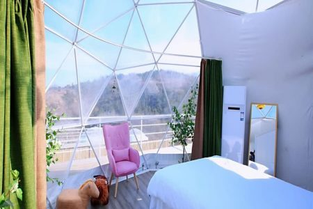 Outdoor Scenic Spherical Wild Luxury Tent