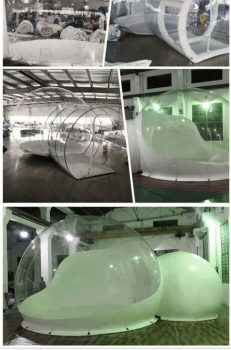 Camp inflatable bubble tent, inflatable tent