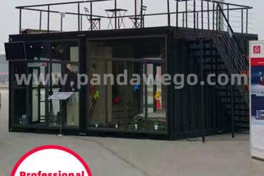 Elegant and artistic modular container hotel