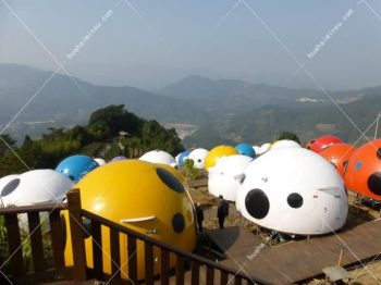 Children's Super Favorite Ladybug House, Outdoor Landscape Tent Hotel