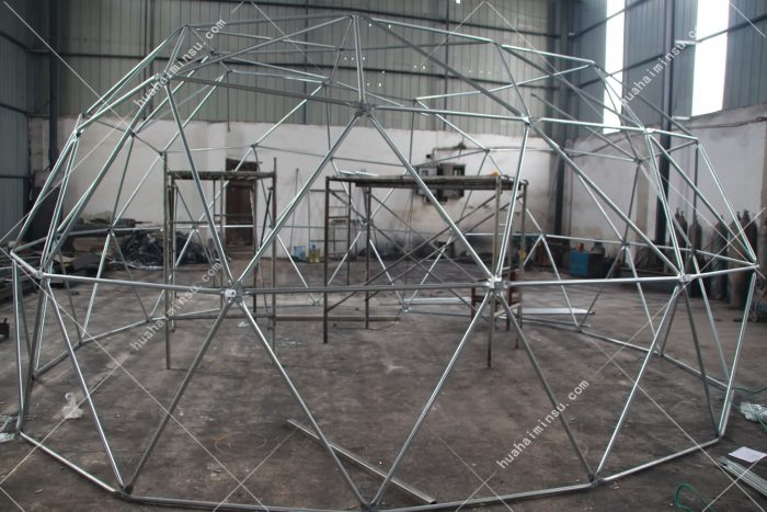 Photographing Star Tent Production in Factory, Designing and Producing Hotel Tent