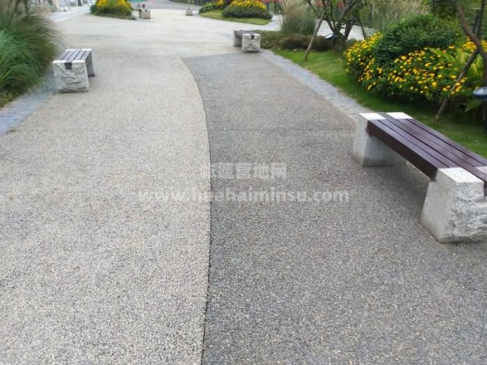 Outdoor leisure wooden steel bench