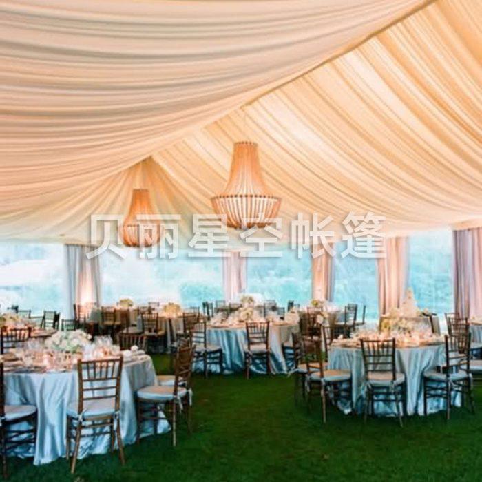 Simple atmosphere modern European wedding tent tent customization