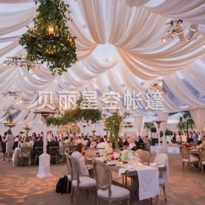 Simple atmosphere modern European wedding tent tent customization