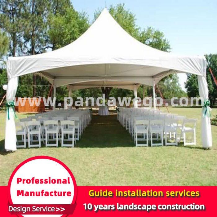 Small four corner Wedding Tent customization