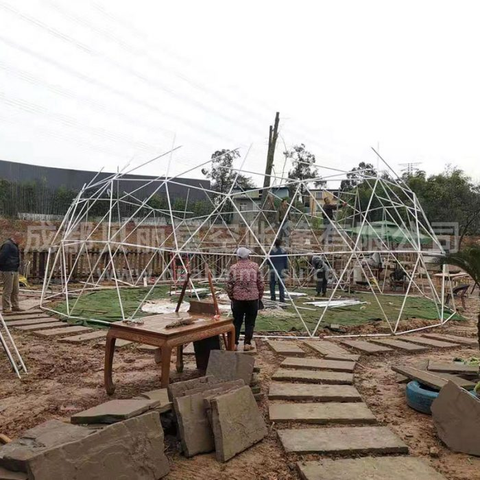 Factory customized outdoor large-scale 10-30 meter spherical tent dome