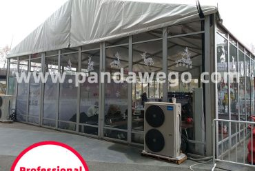 Outdoor Glass Frame Tent for Exhibition, Wedding and Events